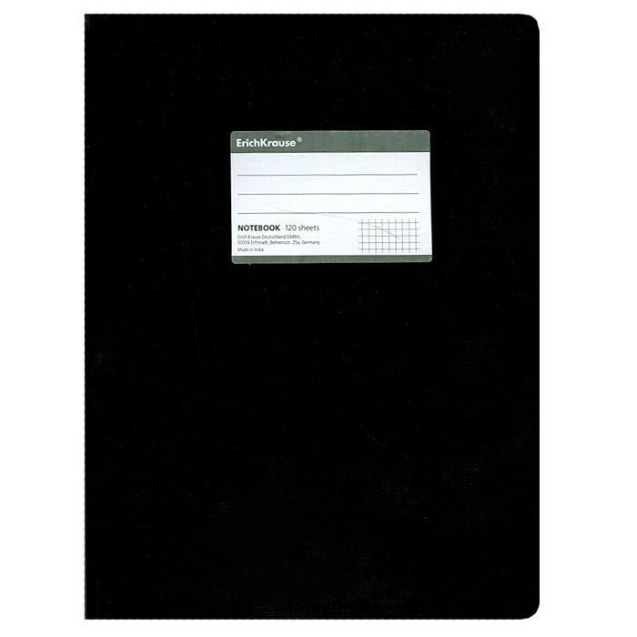 Тетрадь One Color, цвет: черный, 120 листов, А427974Тетрадь One Color в клетку из белой офсетной бумаги послужит прекрасным местом для различных записей. Обложка тетради выполнена из тонкого картона с покрытием. Такая тетрадь подойдет как школьнику, так и студенту. Характеристики:Размер тетради: 20,5 см х 29 см х 1,1 см. Формат: А4. Количество листов: 120. Материал: картон, бумага. Изготовитель: Индия.