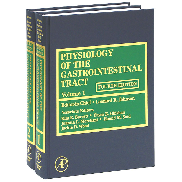 Physiology of the Gastrointestinal Tract (комплект из 2 книг) michael roberts foundations rebuilding after mental breakdown