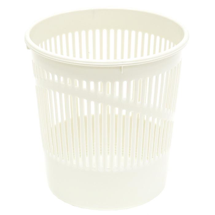 Корзина для бумаг  Erich Krause , стчатая, цвет: серый, 12 литров. 3779 -  Корзины для бумаг