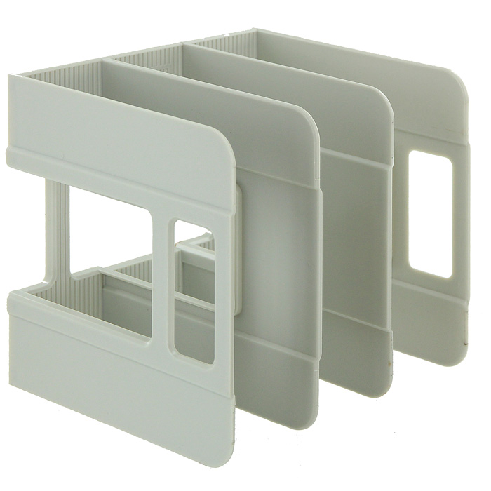 Подставка для бумаг вертикальная Erich Krause  Techno , цвет: серый -  Лотки, подставки для бумаг