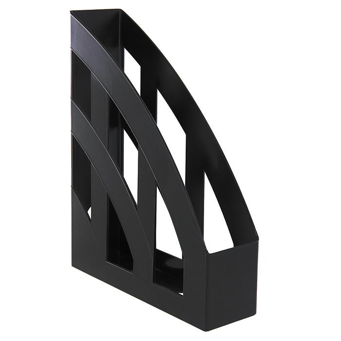 Подставка для бумаг вертикальная Erich Krause Basic, цвет: черный телефонная розетка abb bjb basic 55 шато 1 разъем цвет черный