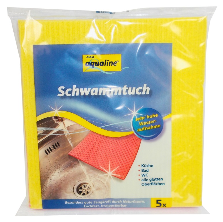 Набор губчатых салфеток Aqualine, 18 х 20 см, 5 шт222530Набор Aqualine состоит из пяти губчатых салфеток, предназначенных для уборки. Благодаря натуральным волокнам салфетки эффективно впитывает влагу и эластичны. Они прекрасно удаляют различные загрязнения с гладких поверхностей. Можно стирать при температуре не выше 95 °С. Характеристики:Материал: 80% вискоза, 20% хлопок. Размер:18 см х 20 см. Комплектация:5 шт. Производитель:Германия. Артикул:222530.Уважаемые клиенты! Обращаем ваше внимание на возможные изменения в дизайне упаковки. Качественные характеристики товара остаются неизменными. Поставка осуществляется в зависимости от наличия на складе.