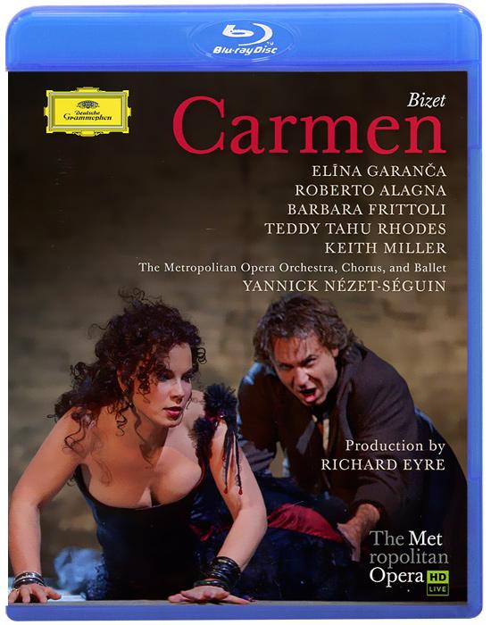 Фото Bizet, Yannick Nezet-Seguin: Carmen (Blu-ray). Покупайте с доставкой по России