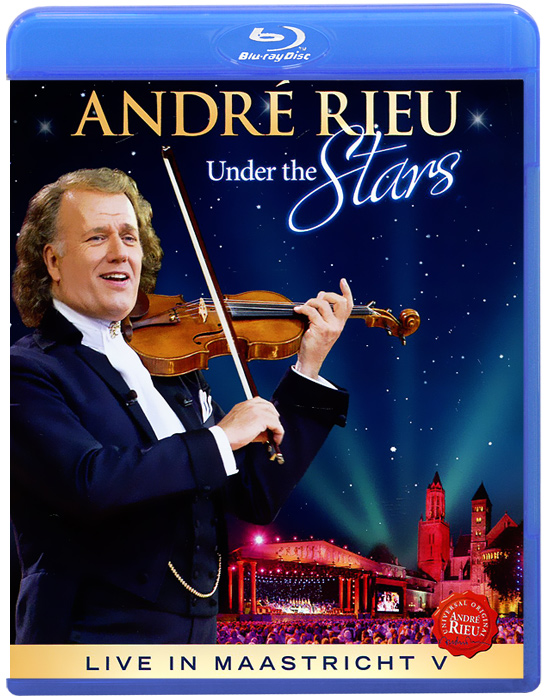 Andre Rieu: Under The Stars: Live In Maastricht V (Blu-ray) andre rieu magic of the violin
