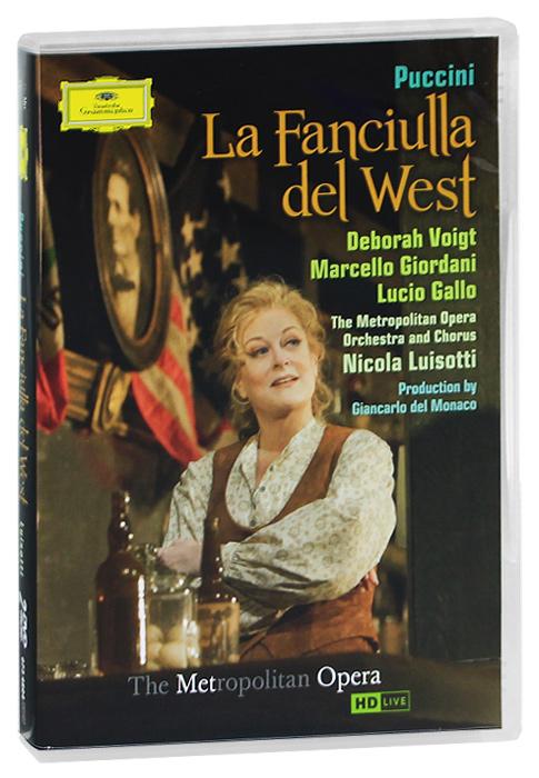 Фото Puccini, Nicola Luisotti: La Fanciulla Del West (2 DVD). Покупайте с доставкой по России