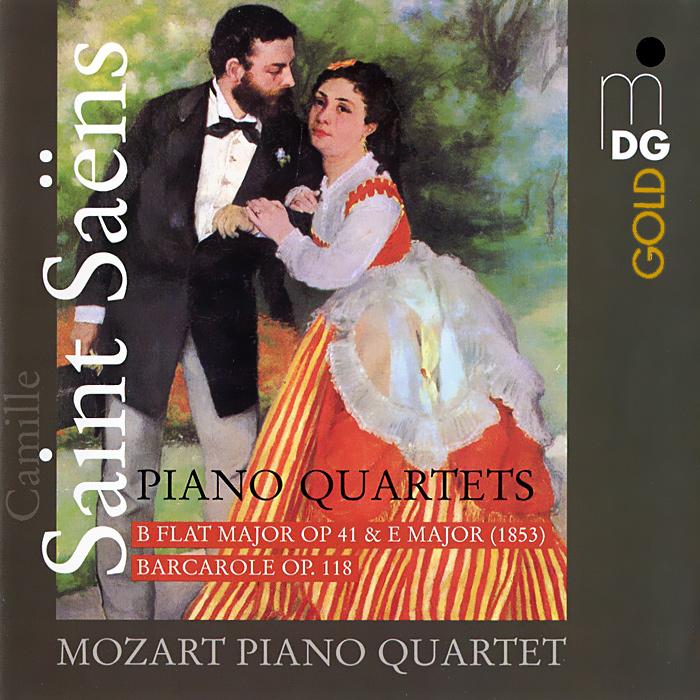 Mozart Piano Quartet Saint-Saens. Piano Quartets (SACD) штефан блунир lizst tasso totentanz piano music sacd