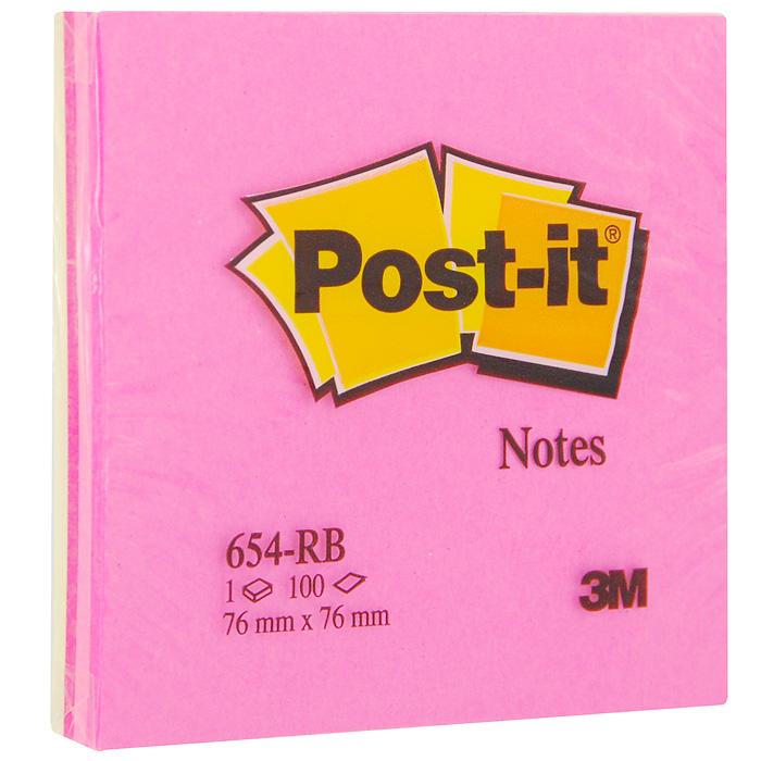 Бумага для заметок Post-it Клубная радуга, с липким слоем, 100 листов654-RB-STБумага для заметок Post-it Клубная радуга прекрасно подойдет для записи номеров телефонов, адресов, напоминания о важной встрече или внезапно пришедшей полезной мысли.Бумагу можно наклеивать на любую гладкую поверхность, без опасения оставить след от клея.Блок содержит 100 листов из бумаги ярких цветов: желтого и трех ярких оттенков розового. Характеристики:Размер листа: 7,6 см х 7,6 см. Количество: 100 листов.