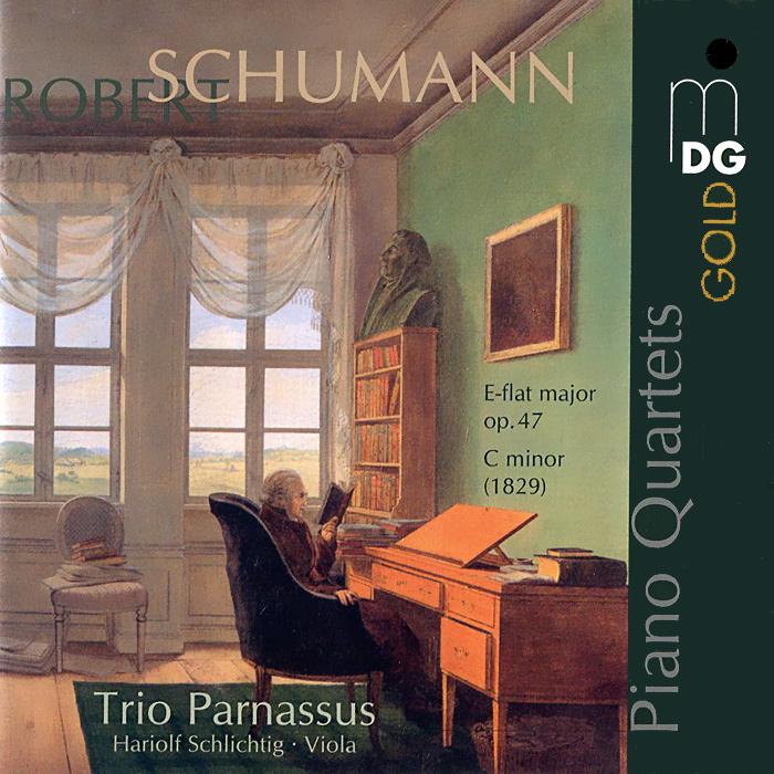 Trio Parnassus,Хариольф Шлихтиг Shumann. Piano Quartets. Trio Parnassus (SACD) mozart piano quartet saint saens piano quartets sacd
