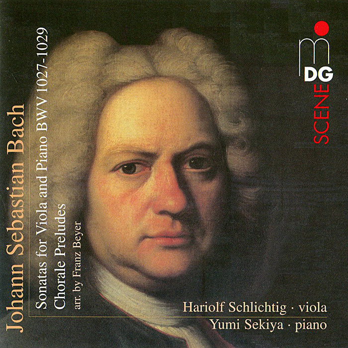 Хариольф Шлихтиг,Юми Секия Bach. Works For Viola And Piano (SACD) sankarea 2