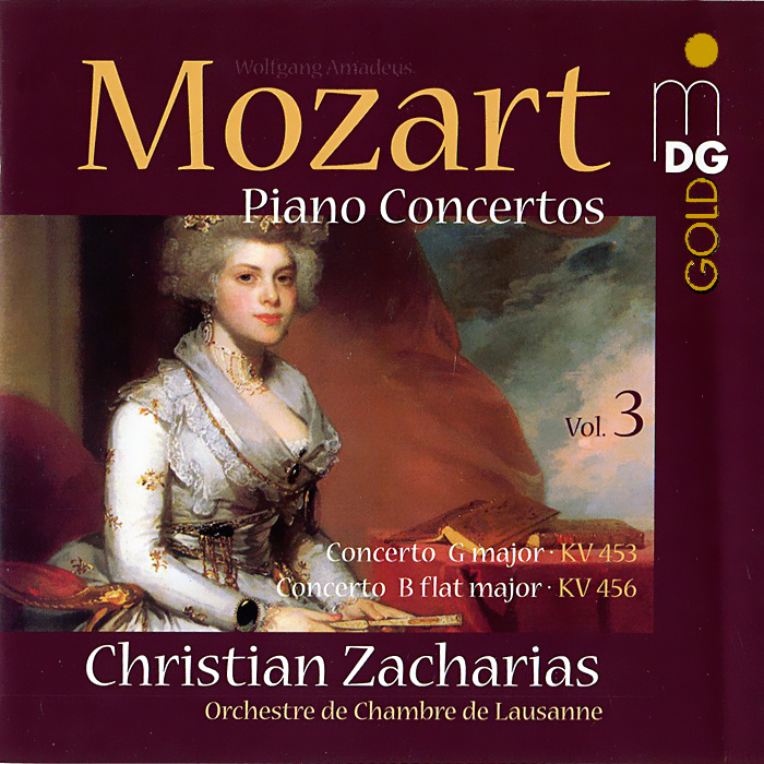 Кристиан Захариас Christian Zacharias. Mozart. Piano Concertos. Vol. 3 (SACD) isd1820 sound voice recording and playback module board 3 5v