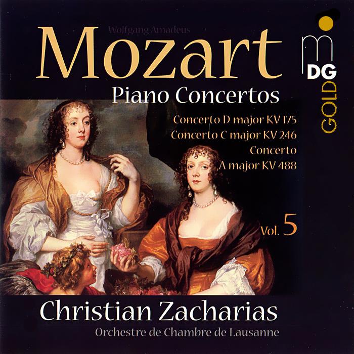 Кристиан Захариас,Orchestra De Chambre De Lausanne Christian Zacharias. Mozart. Piano Concertos Vol. 5 (SACD) радиобудильник philips aj3200 12