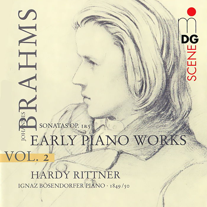Харди Риттнер,Игнац Босиндорфэ Hardy Rittner. Brahms. Early Piano Works Vol. 2 (SACD) early works i