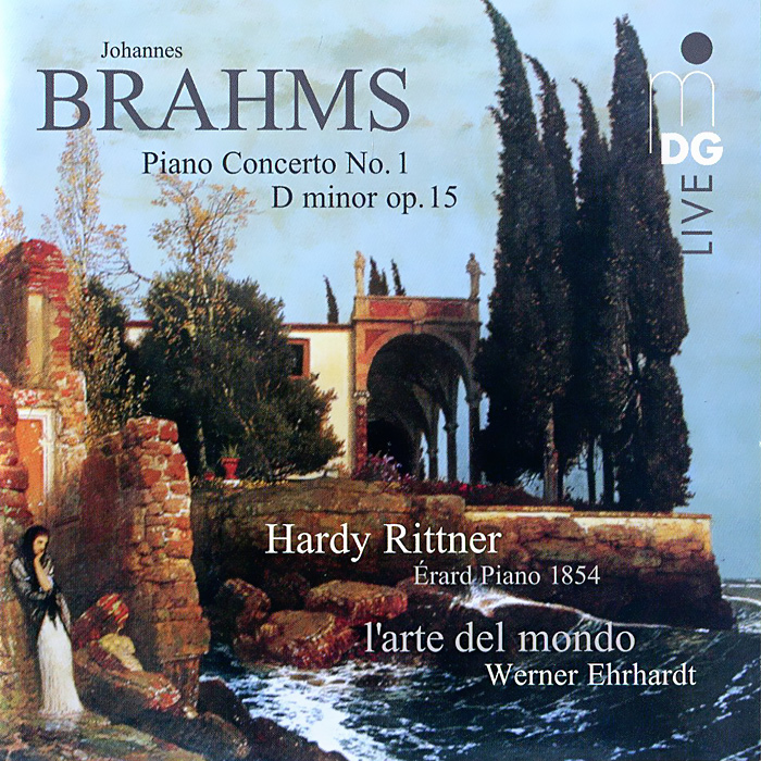 Харди Риттнер,Werner Ehrhardt Brahms. Piano Concerto No. 1 D Minor Op. 15 (SACD) 10 pcs d sub vga db 15 pin male solder type connector socket 2 rows db15f male