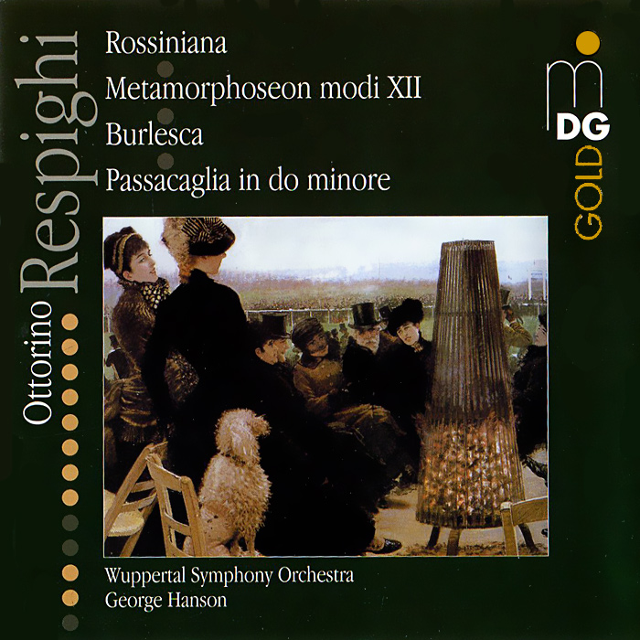 Фото - Wuppertal Symphony Orchestra,Георги Хэнсон Respighi. Orchestral Works (SACD) max raabe and palast orchester wuppertal