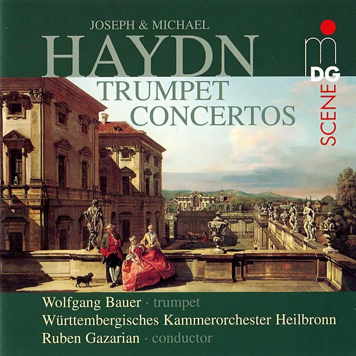 Вольфганг Бауэр,Рубен Газарян,Wurttembergisches Kammerorchester Heilbronn Joseph & Michael Haydn. Trumpet Concertos (SACD)