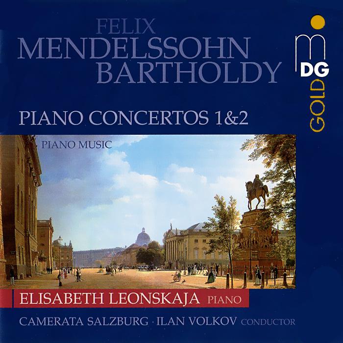 Элизабет Леонская,Salzburg Camerata,Илан Волков Elisabeth Leonskaja. Mendelssohn. Piano Concertos (SACD) vicking 2