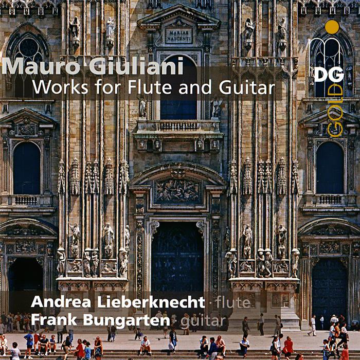 Андреа Либеркнехт,Френк Бунгартен Giuliani. Works For Flute And Guitar (SACD) vicking 2