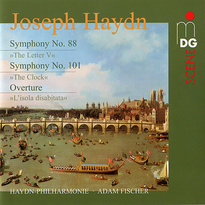 Адам Фишер,Osterreichisch-Ungarische Haydn-Philharmonie Haydn. Symphonies No. 88 & 101 (SACD) vicking 2