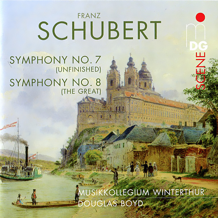 Дуглас Бойд,Musikkollegium Winterthur Douglas Boyd. Schubert. Symphonies No. 7 & 8 (SACD) vicking 2