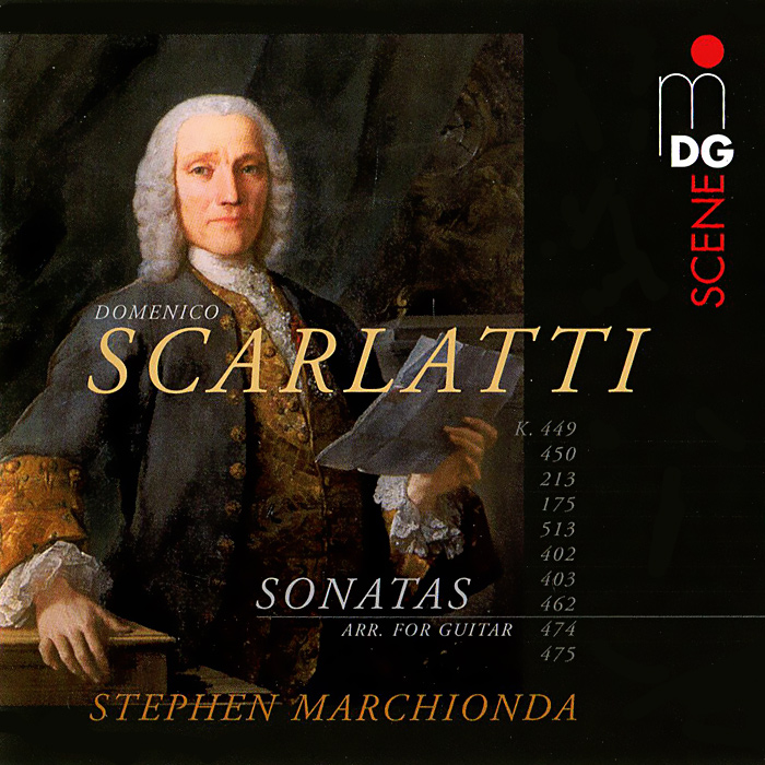 Стефен Марчионда Scarlatti. Sonatas (arr. for Guitar) (SACD) 24pcs electric guitar fret wire fretwire set 2 2mm