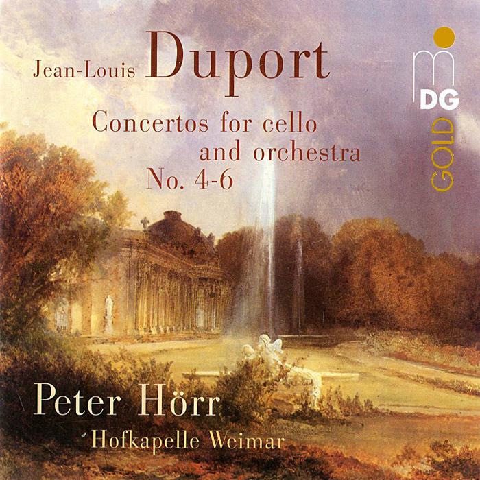 Петер Хорр Peter Horr. Duport. Violoncello Concertos (SACD)