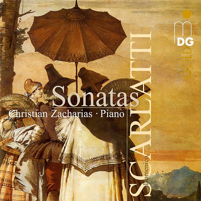 Christian Zacharias. Scatlatti. Sonatas (SACD)