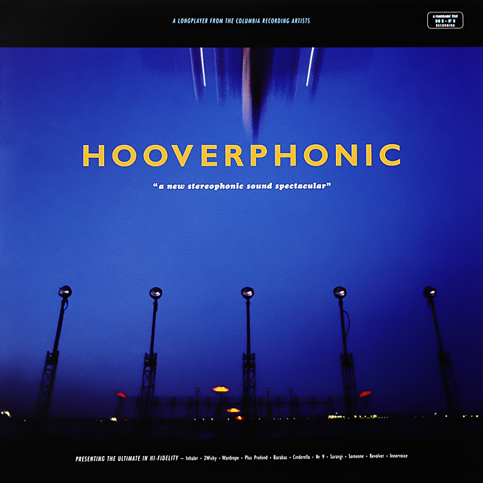Hooverphonic Hooverphonic. A New Stereophonic Sound Spectacular (LP) hooverphonic hooverphonic in wonderland lp cd