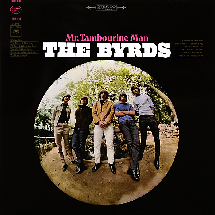 The Byrds. Mr. Tambourine Man (LP)