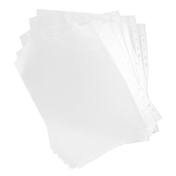 Перфофайл Erich Krause  Clear Standard , цвет: прозрачный, 100 шт, А4 -  Файлы и разделители