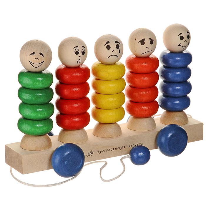 Краснокамская игрушка Игрушка-каталка Квинтет