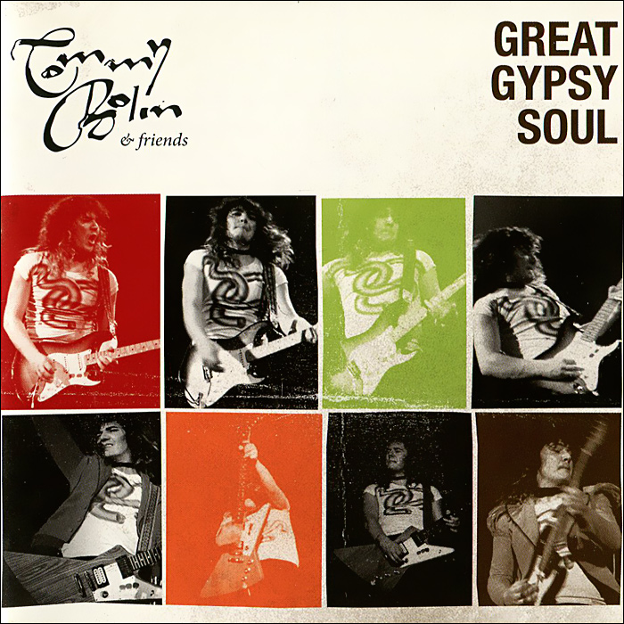 Томми Болин Tommy Bolin & Friends. Great Gypsy Soul fretboard markers inlay sticker decals for guitar gypsy rose