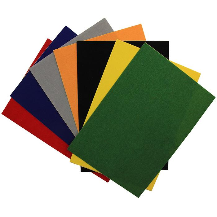 """Цветная бархатная бумага """"Fancy"""", 7 цветов. FD010024, ACTION!"""