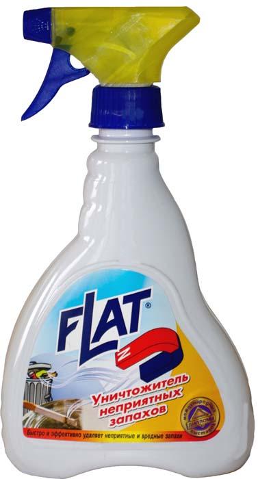 Уничтожитель неприятных запахов Flat, 480 г очиститель flat для ковров и мягкой мебели с ароматом лимона 480 г