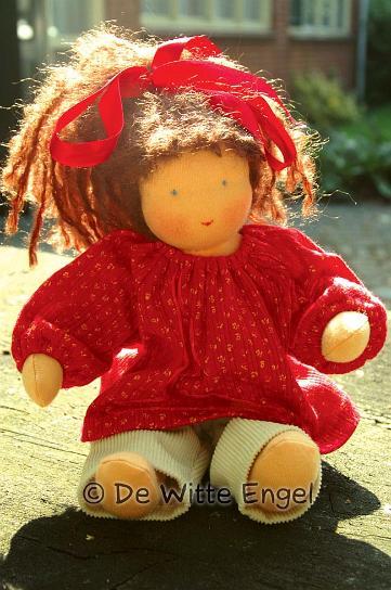 """Набор для изготовления вальдорфской игрушки """"Кукла Тэсса"""", 30 см"""