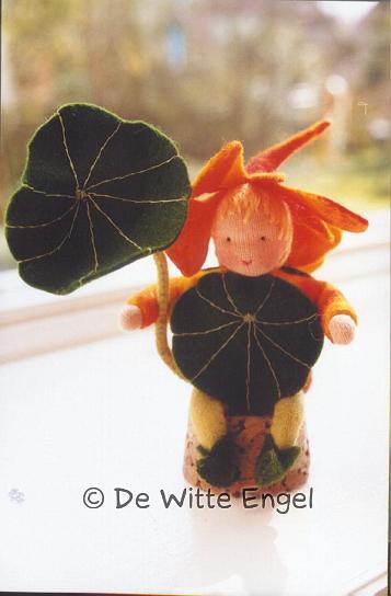 Набор для изготовления вальдорфской игрушки  Настурция , 12 см - Игрушки своими руками