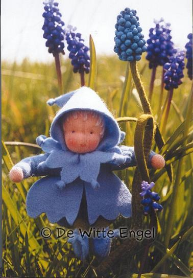 Набор для изготовления вальдорфской игрушки Синий Гиацинт, 12 см набор для изготовления вальдорфской игрушки мальчик на жирафе 30 см