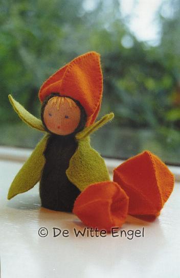 Набор для изготовления вальдорфской игрушки Маленький физалис, 10 см набор для изготовления вальдорфской игрушки мальчик на жирафе 30 см