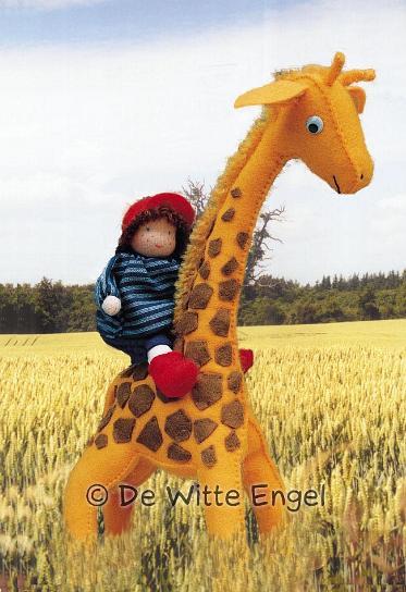 Набор для изготовления вальдорфской игрушки Мальчик на жирафе, 30 см набор для изготовления вальдорфской игрушки мальчик на жирафе 30 см