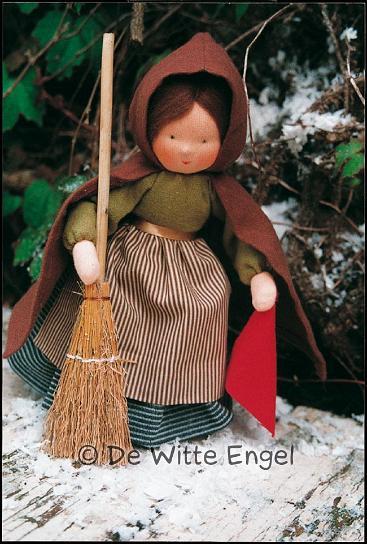 """Набор для изготовления вальдорфской игрушки """"Девушка Тауветтер"""", 22 см, De Witte Engel"""