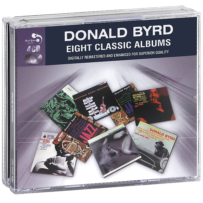Donald Byrd. Eight Classic Albums (4 CD)