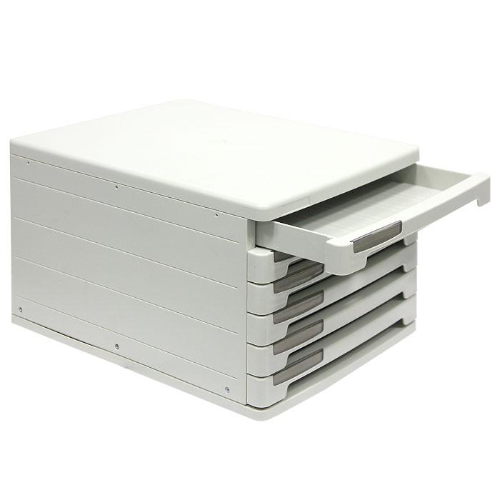 Файл-кабинет  Erich Krause , цвет: серый, 6 секций -  Лотки, подставки для бумаг