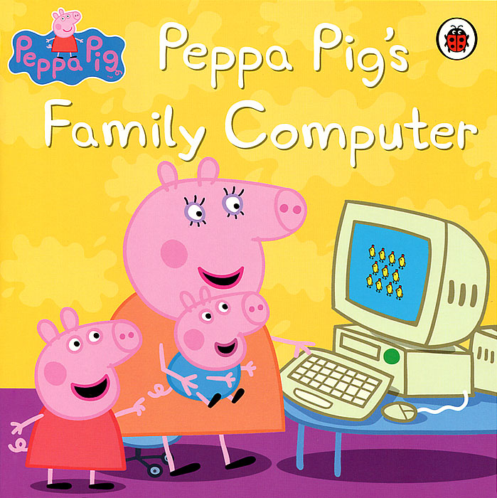 Peppa Pig's: Family Computer peppa goes to the library