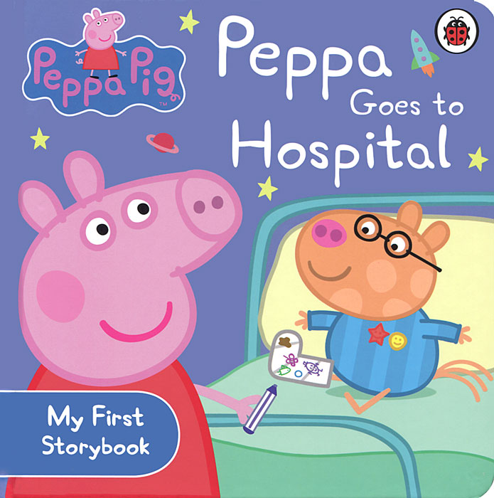 Peppa Goes to Hospital peppa goes to the library
