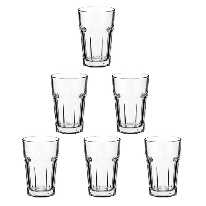 Набор стаканов Casablanca, 280 мл, 6 шт52713Набор Casablanca, состоящий из шести высоких стаканов, несомненно, придется вам по душе. Стаканы предназначены для подачи сока, воды и других напитков. Они изготовлены из прочного высококачественного прозрачного стекла и имеют толстое дно. Стаканы сочетают в себе элегантный дизайн и функциональность. Благодаря такому набору пить напитки будет еще вкуснее.Набор стаканов Casablanca идеально подойдет для сервировки стола и станет отличным подарком к любому празднику. Характеристики:Материал: стекло. Диаметр стакана по верхнему краю:7,5 см. Высота стакана:11,5 см. Диаметр основания стакана:6 см. Объем стакана:280 мл. Комплектация:6 шт. Размер упаковки:24,5 см х 12,5 см х 16,5 см. Производитель:Турция. Изготовитель:Россия. Артикул:52713.
