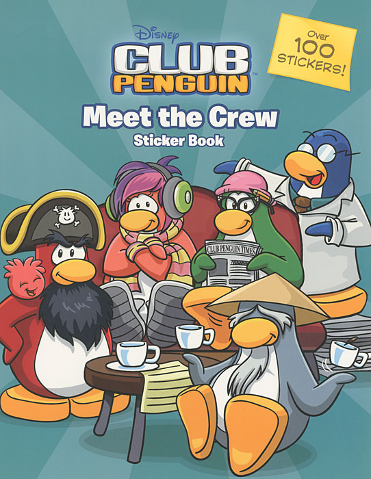 Club Penguin: Meet the Crew Sticker Activity Book high quality rlc 018 replacement lamp with housing for viewsonic pj506d pj556d projector