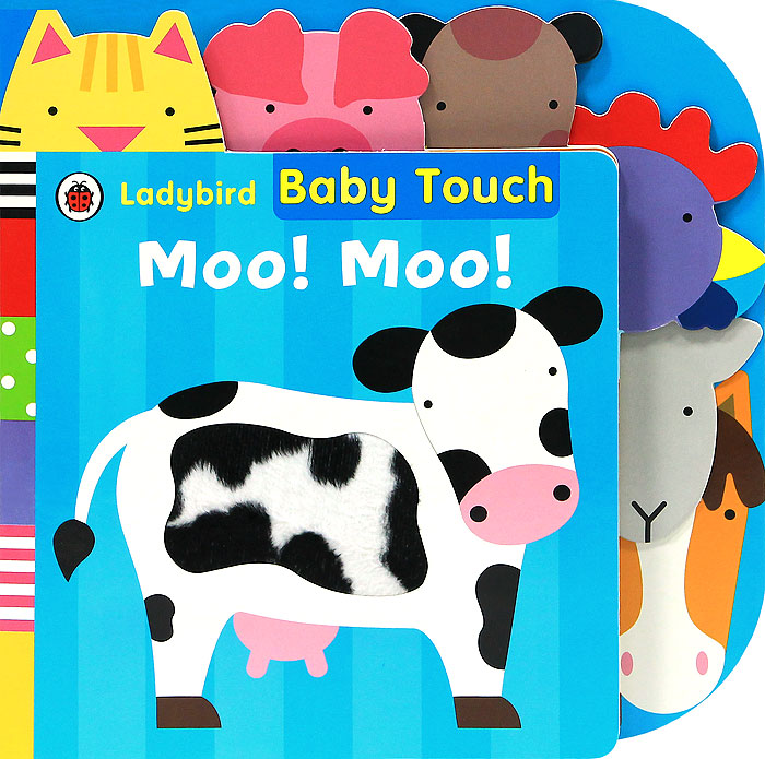 Baby Touch: Moo! Moo! touch and feel dinosaur touch