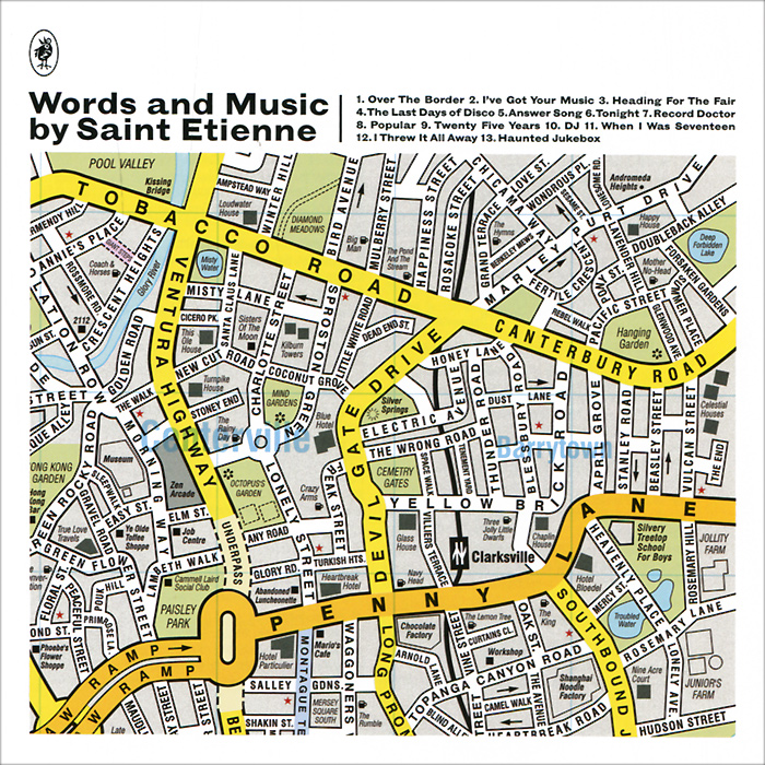 Saint Etienne Saint Etienne. Words And Music By Saint Etienne as saint etienne stade de rennes fc