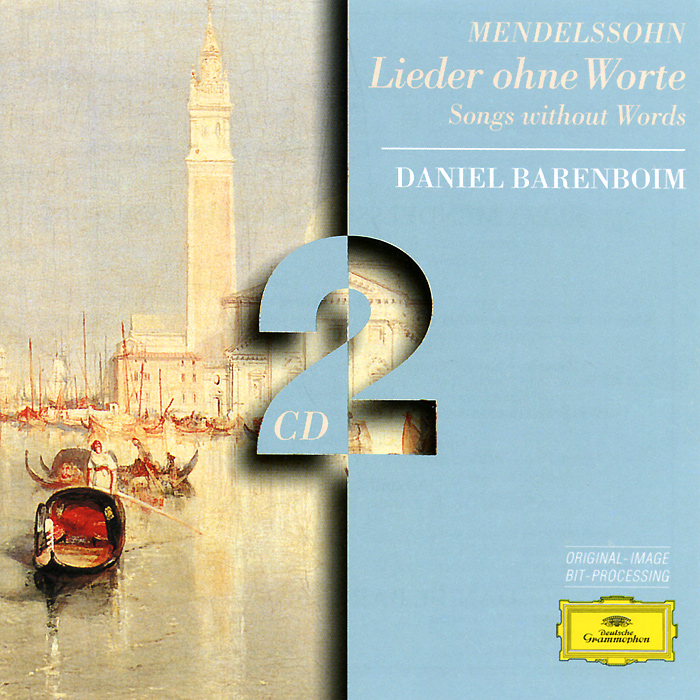 Дэниэл Баренбойм Daniel Barenboim. Mendelssohn. Songs Without Words (2 CD) миша майский franz schubert songs without words mischa maisky daria hovora