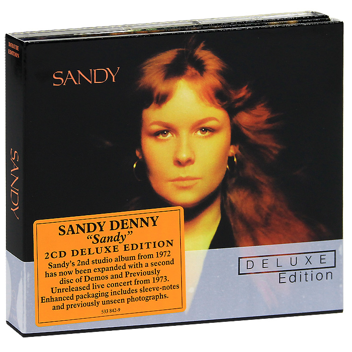 Сэнди Денни Sandy Denny. Sandy. Deluxe Edition (2 CD) джинсы женские sandy lady sz 2015