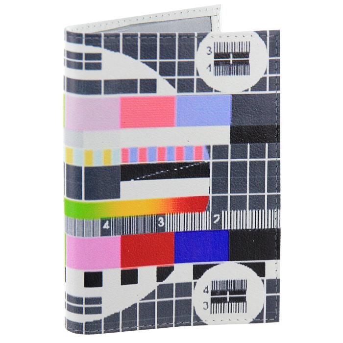 Обложка для паспорта ТВ-сетка. OK034OK034Обложка для паспорта Эфир окончен, выполненная из натуральной кожи, оформлена изображением телевизионной заставки. Такая обложка не только поможет сохранить внешний вид ваших документов и защитит их от повреждений, но и станет стильным аксессуаром, идеально подходящим вашему образу. Яркая и оригинальная обложка подчеркнет вашу индивидуальность и изысканный вкус.Обложка для паспорта стильного дизайна может быть достойным и оригинальным подарком. Характеристики: Материал: натуральная кожа, пластик. Размер (в сложенном виде): 9,5 см х 14 см. Производитель:Россия. Артикул:OK34.